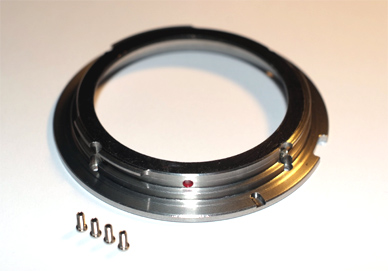 Narrow Contax mount